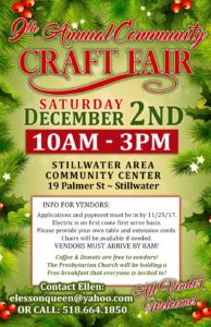 Craft Fair @ Stillwater Area Community Center