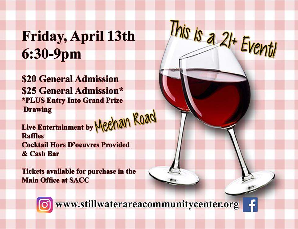 SACC's Annual Wine Pull @ Stillwater Area Community Center